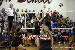 CIAC Girls Volleyball - CCCT Focused on Farmington vs. Bristol Eastern - Photo # (308)
