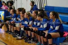 CIAC Girls Volleyball Class M State QF's Seymour 3 vs Plainville 2 (25-22, 21-25, 25-14, 21-25, 15-3) - Photo (34)