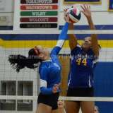 CIAC Girls Volleyball Class M State QF's Seymour 3 vs Plainville 2 (25-22, 21-25, 25-14, 21-25, 15-3) - Photo (38)