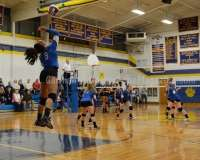 CIAC Girls Volleyball Class M State QF's Seymour 3 vs Plainville 2 (25-22, 21-25, 25-14, 21-25, 15-3) - Photo (42)
