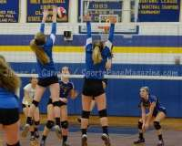 CIAC Girls Volleyball Class M State QF's Seymour 3 vs Plainville 2 (25-22, 21-25, 25-14, 21-25, 15-3) - Photo (49)