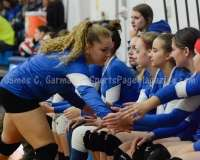 CIAC Girls Volleyball Class M State QF's Seymour 3 vs Plainville 2 (25-22, 21-25, 25-14, 21-25, 15-3) - Photo (51)