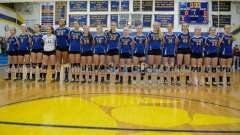 CIAC Girls Volleyball Class M State QF's Seymour 3 vs Plainville 2 (25-22, 21-25, 25-14, 21-25, 15-3) - Photo (6)
