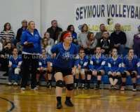 CIAC Girls Volleyball Class M State QF's Seymour 3 vs Plainville 2 (25-22, 21-25, 25-14, 21-25, 15-3) - Photo (69)