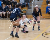 CIAC Girls Volleyball Class M State SF's - #3 Seymour 2 vs. #7 East Haven 3 (163)