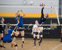 CIAC Girls Volleyball Class M State SF's - #3 Seymour 2 vs. #7 East Haven 3 (168)