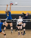 CIAC Girls Volleyball Class M State SF's - #3 Seymour 2 vs. #7 East Haven 3 (169)