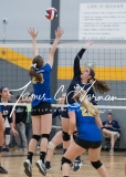 CIAC Girls Volleyball Class M State SF's - #3 Seymour 2 vs. #7 East Haven 3 (172)