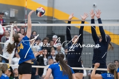 CIAC Girls Volleyball Class M State SF's - #3 Seymour 2 vs. #7 East Haven 3 (173)