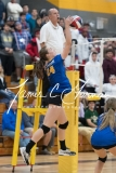 CIAC Girls Volleyball Class M State SF's - #3 Seymour 2 vs. #7 East Haven 3 (175)