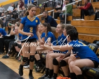 CIAC Girls Volleyball Class M State SF's - #3 Seymour 2 vs. #7 East Haven 3 (177)