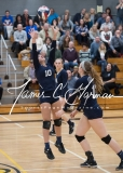 CIAC Girls Volleyball Class M State SF's - #3 Seymour 2 vs. #7 East Haven 3 (182)