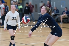 CIAC Girls Volleyball Class M State SF's - #3 Seymour 2 vs. #7 East Haven 3 (184)