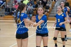 CIAC Girls Volleyball Class M State SF's - #3 Seymour 2 vs. #7 East Haven 3 (187)