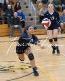 CIAC Girls Volleyball Class M State SF's - #3 Seymour 2 vs. #7 East Haven 3 (188)