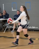 CIAC Girls Volleyball Class M State SF's - #3 Seymour 2 vs. #7 East Haven 3 (192)