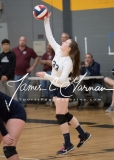 CIAC Girls Volleyball Class M State SF's - #3 Seymour 2 vs. #7 East Haven 3 (193)