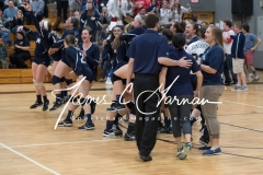 CIAC Girls Volleyball Class M State SF's - #3 Seymour 2 vs. #7 East Haven 3 (195)