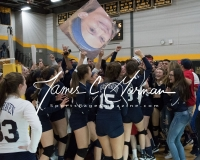CIAC Girls Volleyball Class M State SF's - #3 Seymour 2 vs. #7 East Haven 3 (198)
