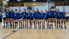 CIAC Girls Volleyball Class M State SF's - #3 Seymour 2 vs. #7 East Haven 3 (3)