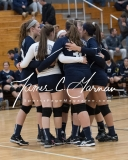 CIAC Girls Volleyball Class M State SF's - #3 Seymour 2 vs. #7 East Haven 3 (8)