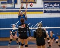 CIAC Girls Volleyball Class M State SR - #3 Seymour 3 vs. #14 Plainfield 0 (16)