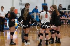 CIAC Girls Volleyball Class M State SR - #3 Seymour 3 vs. #14 Plainfield 0 (18)