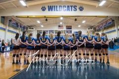 CIAC Girls Volleyball Class M State QF's - #3 Seymour 3 vs. #6 Nonnewaug 0 (1)