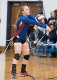 CIAC Girls Volleyball Class M State QF's - #3 Seymour 3 vs. #6 Nonnewaug 0 (10)