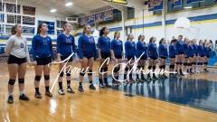 CIAC Girls Volleyball Class M State QF's - #3 Seymour 3 vs. #6 Nonnewaug 0 (3)