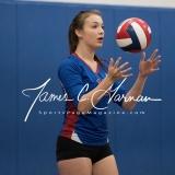 CIAC Girls Volleyball Class M State QF's - #3 Seymour 3 vs. #6 Nonnewaug 0 (30)