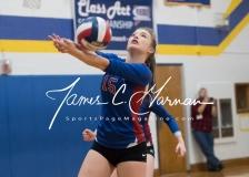 CIAC Girls Volleyball Class M State QF's - #3 Seymour 3 vs. #6 Nonnewaug 0 (32)