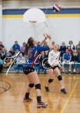 CIAC Girls Volleyball Class M State QF's - #3 Seymour 3 vs. #6 Nonnewaug 0 (34)