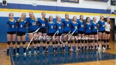 CIAC Girls Volleyball Class M State QF's - #3 Seymour 3 vs. #6 Nonnewaug 0 (4)