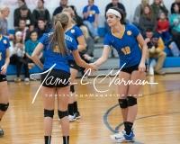 CIAC Girls Volleyball Class M State QF's - #3 Seymour 3 vs. #6 Nonnewaug 0 (6)
