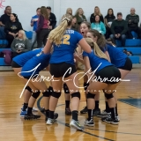 CIAC Girls Volleyball Class M State QF's - #3 Seymour 3 vs. #6 Nonnewaug 0 (7)