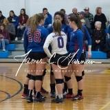 CIAC Girls Volleyball Class M State QF's - #3 Seymour 3 vs. #6 Nonnewaug 0 (8)