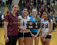 CIAC Girls Volleyball Class M State Finals - Awards - #1 Torrington 0 vs. #3 Seymour 3 - Photo (23)