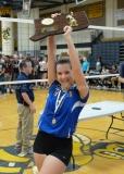 CIAC Girls Volleyball Class M State Finals - Awards - #1 Torrington 0 vs. #3 Seymour 3 - Photo (48)