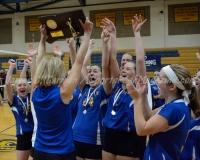CIAC Girls Volleyball Class M State Finals - Awards - #1 Torrington 0 vs. #3 Seymour 3 - Photo (49)