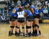 CIAC Girls Volleyball Class M State Finals-Game Photos - #1 Torrington 0 vs. #3 Seymour 3 - Photo (2)
