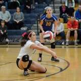 CIAC Girls Volleyball Class M State Finals-Game Photos - #1 Torrington 0 vs. #3 Seymour 3 - Photo (21)