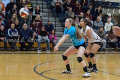 CIAC Girls Volleyball Class M State Finals-Game Photos - #1 Torrington 0 vs. #3 Seymour 3 - Photo (32)