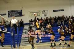 Gallery CIAC Girls Volleyball Class M Tournament SF's - #3 Seymour 3 vs. #7 Granby 1 - Photo # (301)