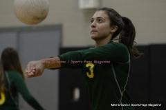 CIAC Girls Volleyball; #5 Goodwin Tech 1 vs. #12 Holy Cross 3 - Photo # (12)