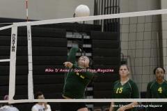 CIAC Girls Volleyball; #5 Goodwin Tech 1 vs. #12 Holy Cross 3 - Photo # (132)
