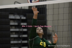 CIAC Girls Volleyball; #5 Goodwin Tech 1 vs. #12 Holy Cross 3 - Photo # (142)