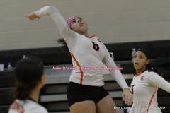 CIAC Girls Volleyball; #5 Goodwin Tech 1 vs. #12 Holy Cross 3 - Photo # (233)