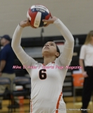 CIAC Girls Volleyball; #5 Goodwin Tech 1 vs. #12 Holy Cross 3 - Photo # (275)