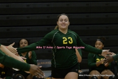 CIAC Girls Volleyball; #5 Goodwin Tech 1 vs. #12 Holy Cross 3 - Photo # (304)
